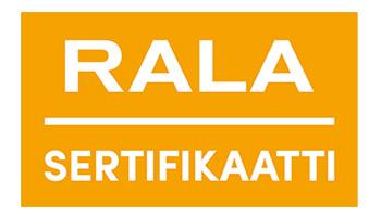 Viherpalvelut Hyvönen - Rala-sertifikaatti